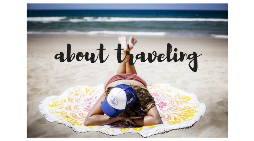 über das Reisen…