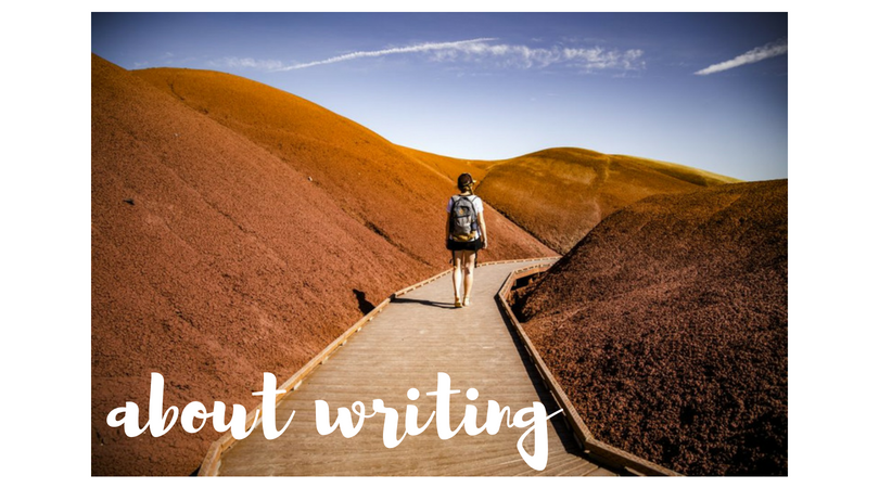 über das Schreiben…