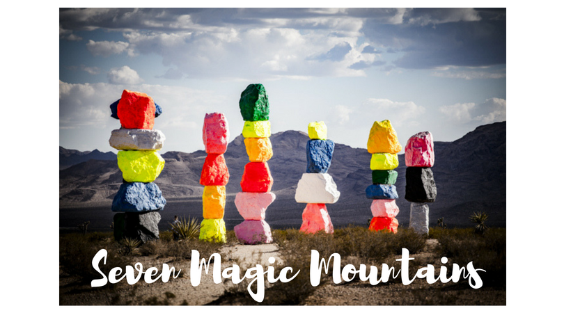 USA – Seven Magic Mountains