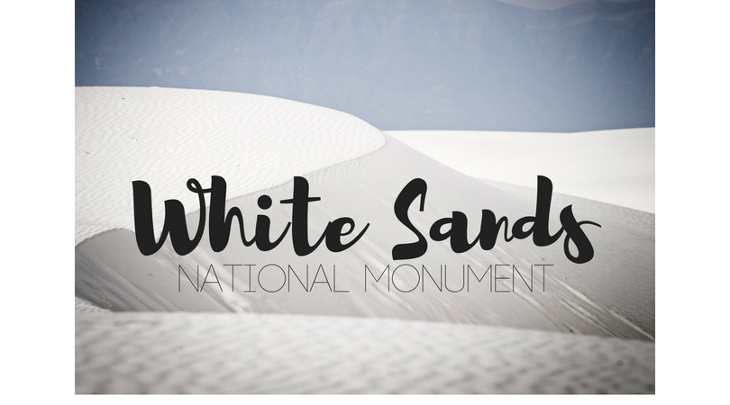 USA – White Sands National Monument
