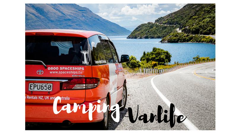 camping/vanlife in Neuseeland
