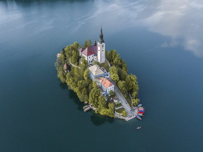 die Klosterinsel Blejski Otok
