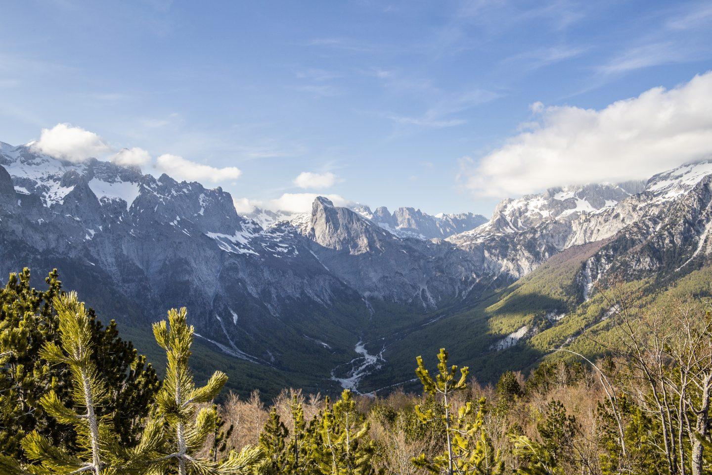 atemberaubende Bergwelt