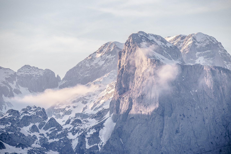 die wunderbare Bergwelt Albanien's