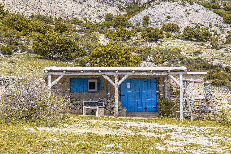 Häuschen auf der Insel Krk