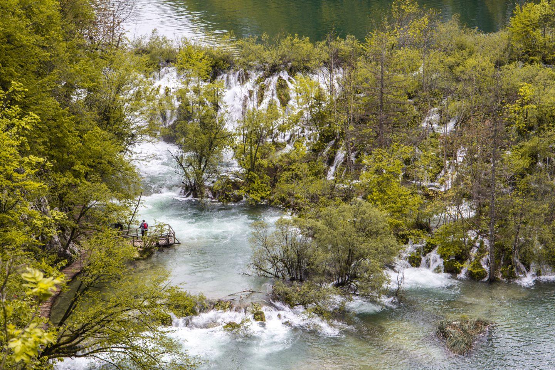 ein fast überfluteter Nationalpark