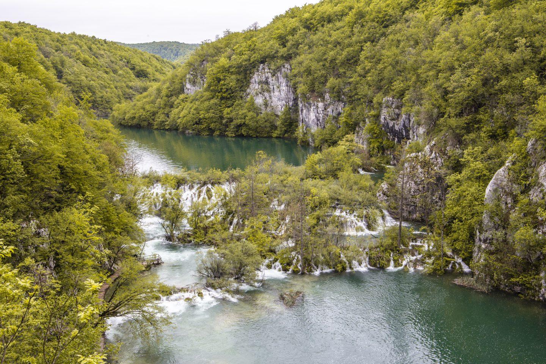 die fantastische Wasserwelt des Nationalparks Plitvicer Seen