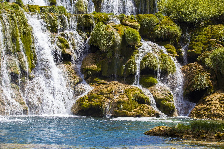die wundervolle Wasserwelt des Krka Nationalparks