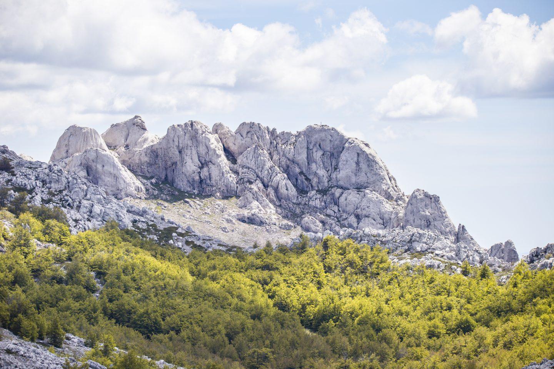 die wundervolle Bergwelt des Paklenica Gebietes