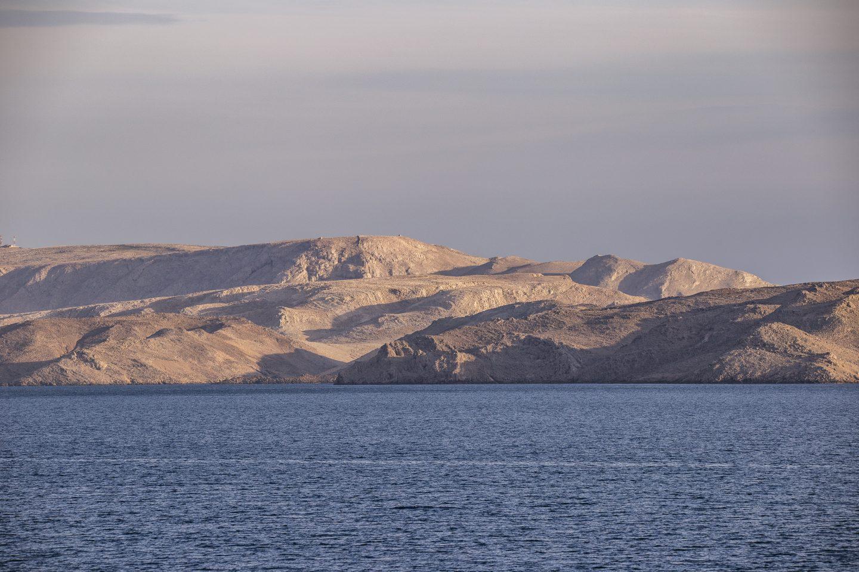 Aussichten auf die Insel Pag
