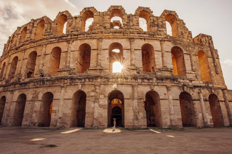 El Djem amphitheater en