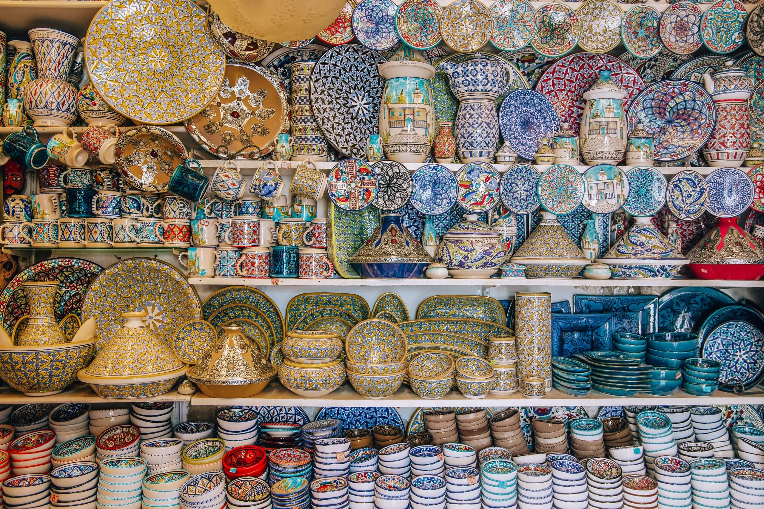 die größte Auswahl an bemalten Keramiken