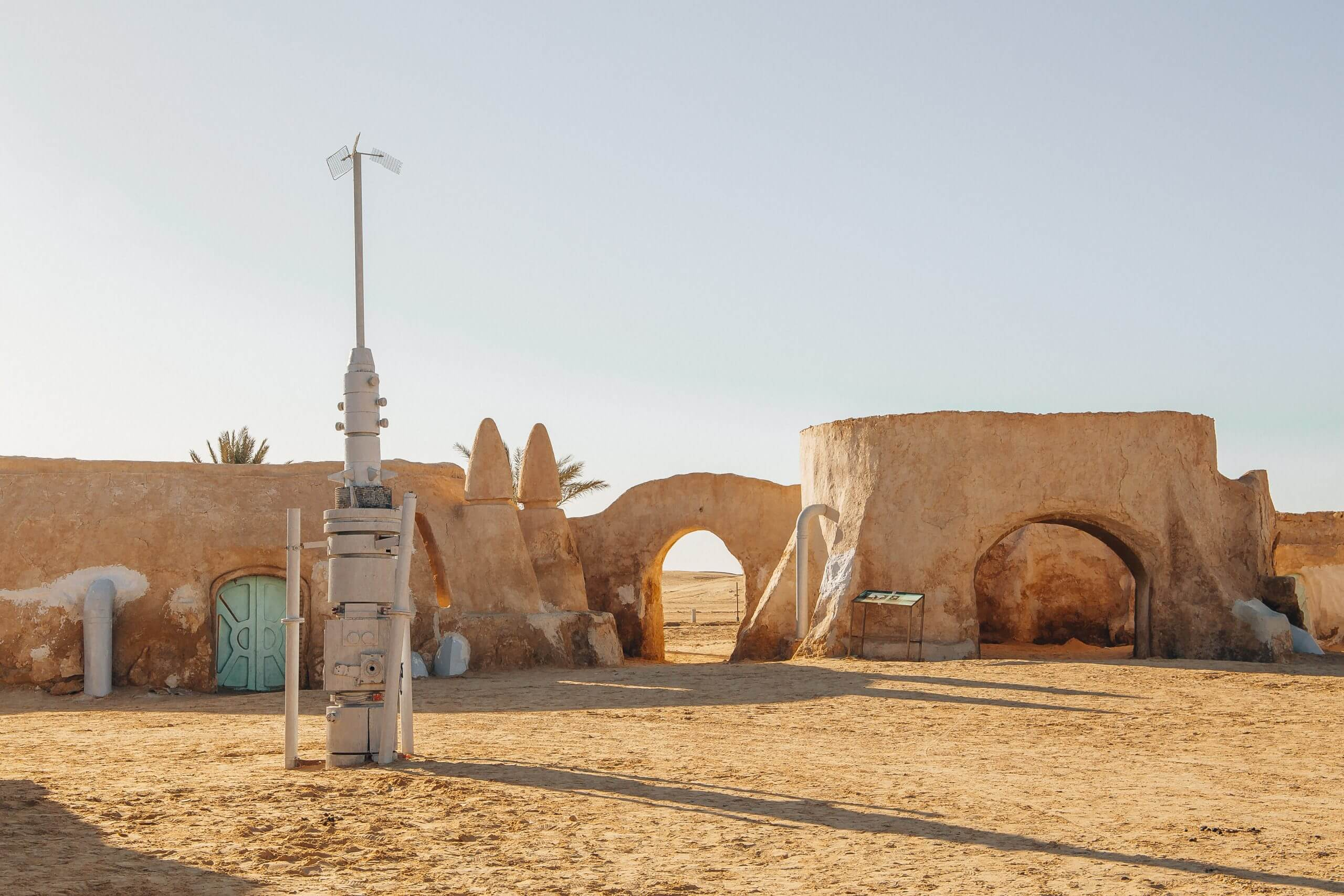 The Original Star Wars Movie Sets In Tunisia The Travely