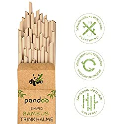 Strohhalm aus Bambus