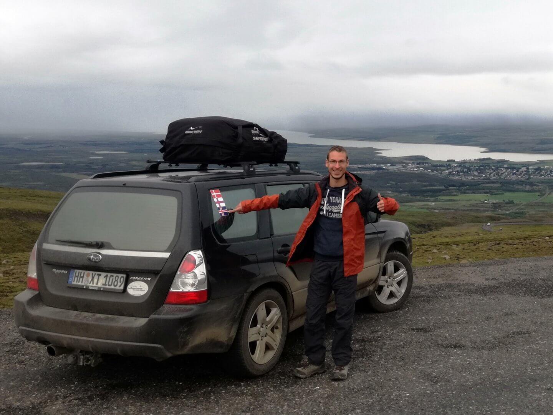 Mit dem DIY Mini-Camper unterwegs in Island – André erzählt