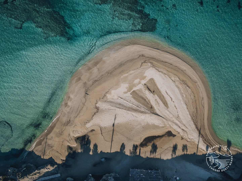 Marmari - a famous kite surf spot