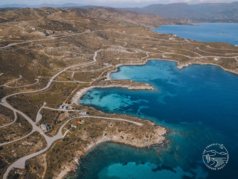 beaches near Karystos
