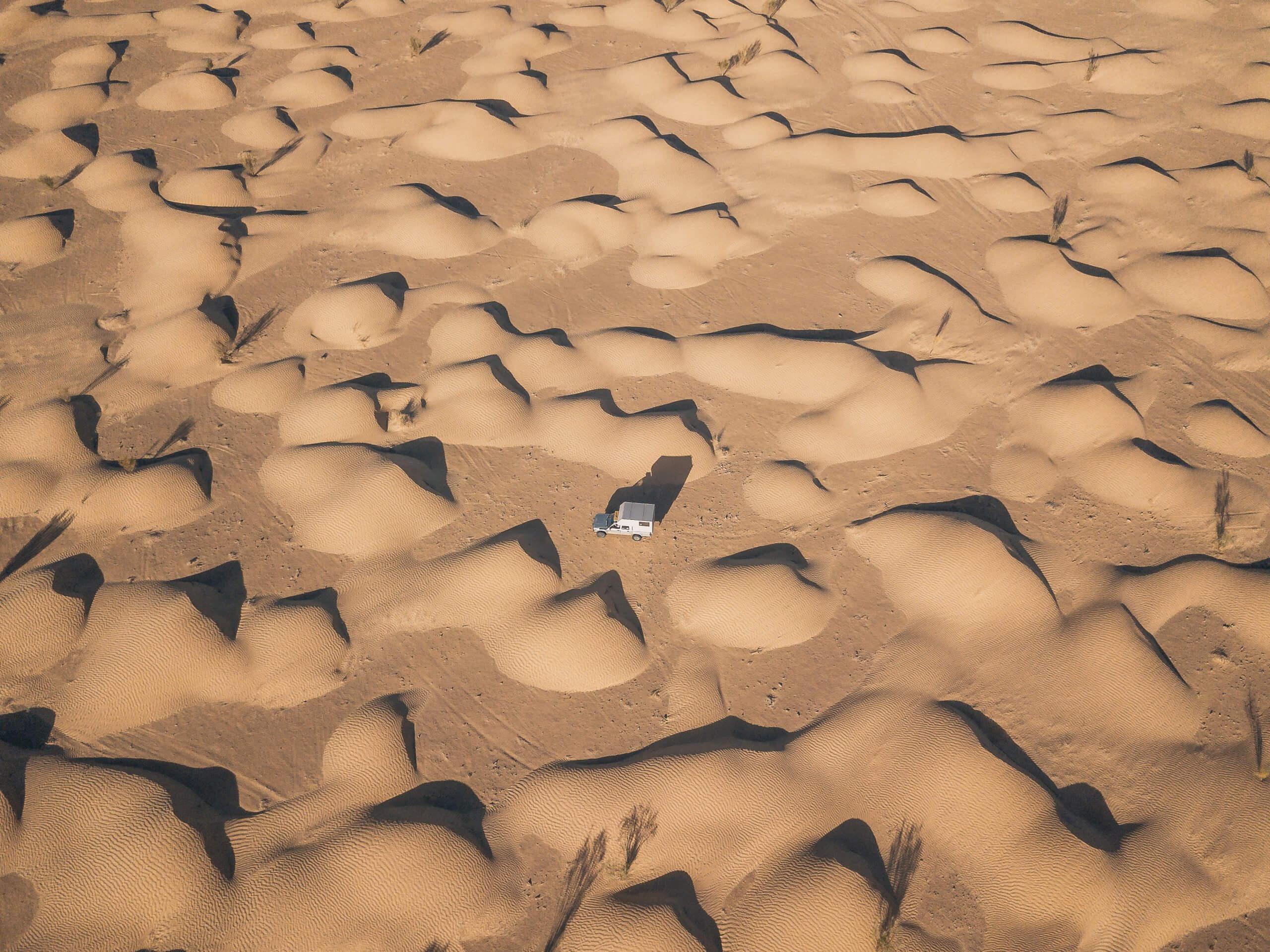 unser Stellpaltz in den Dünen