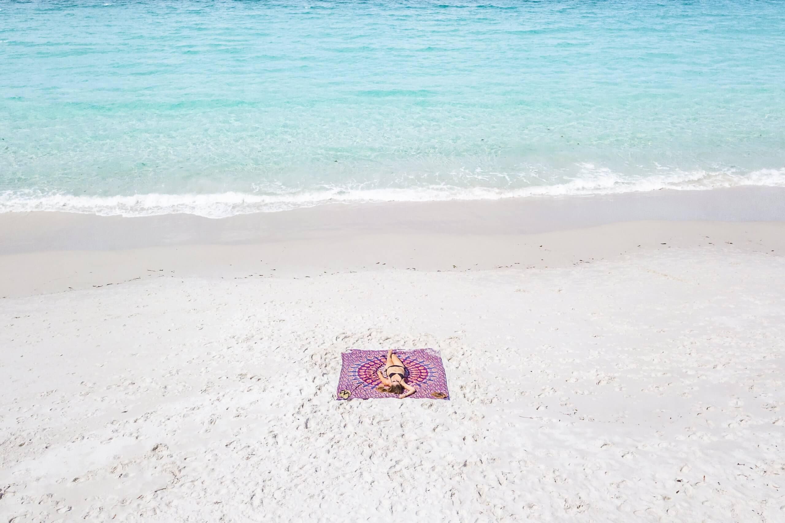 am Hyams Beach