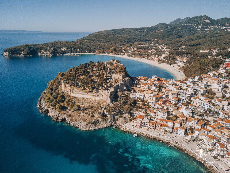 das wunderschöne Fischerdörfchen Parga im Nordwesten Griechenlands