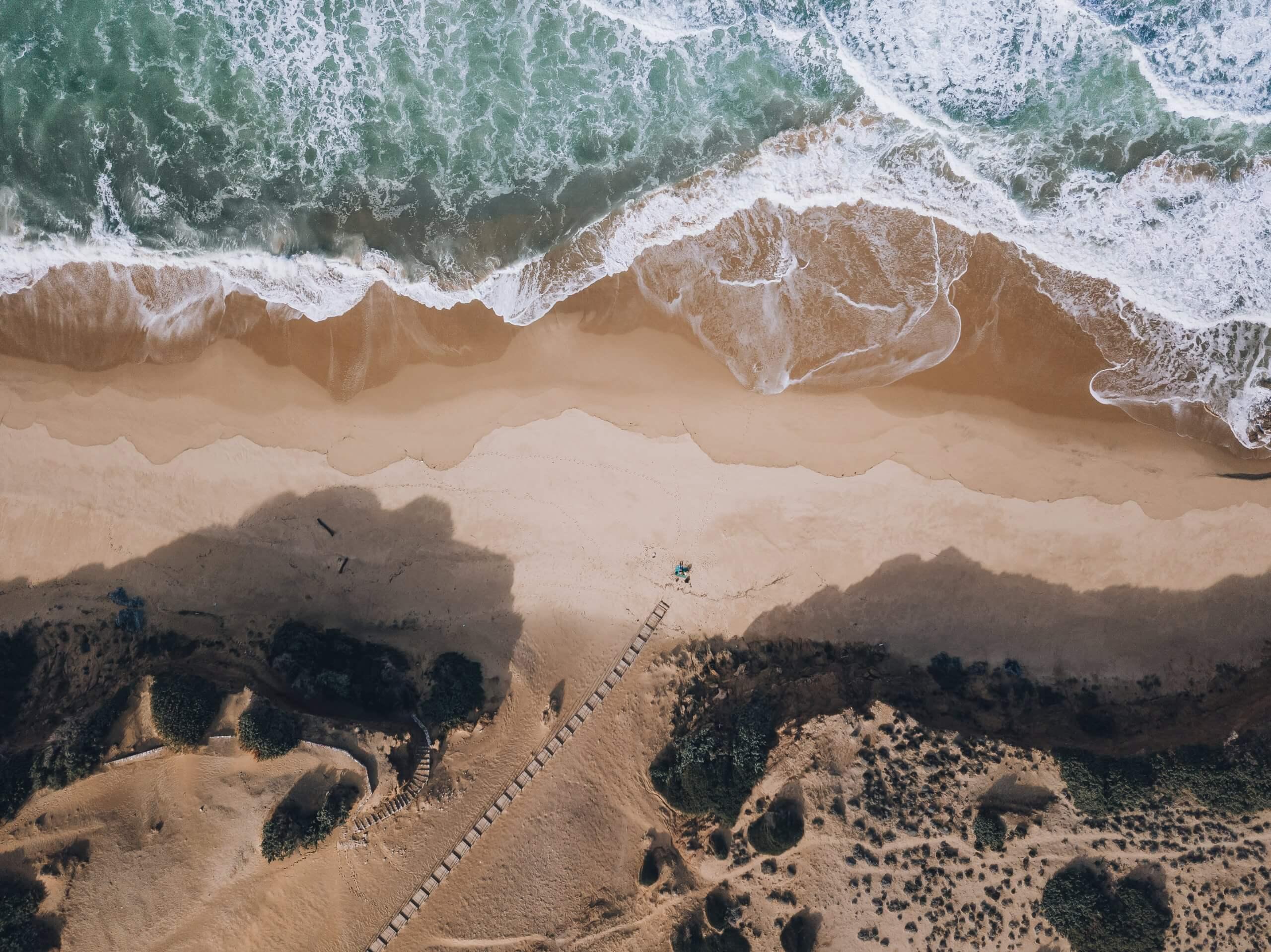 an der Spiaggia Scivu