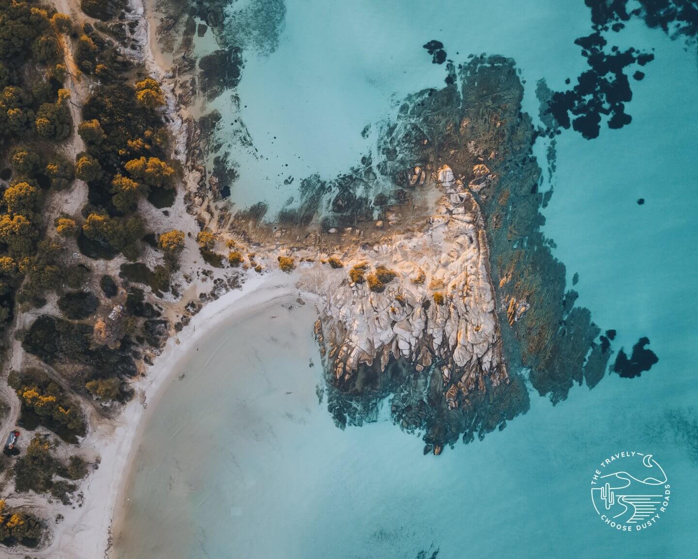 dream beach at the Sithonia peninsula