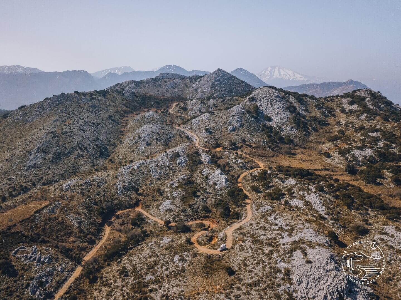 the wonderful mountains of Evia