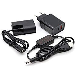 Externe Stromversorgung für Kamera