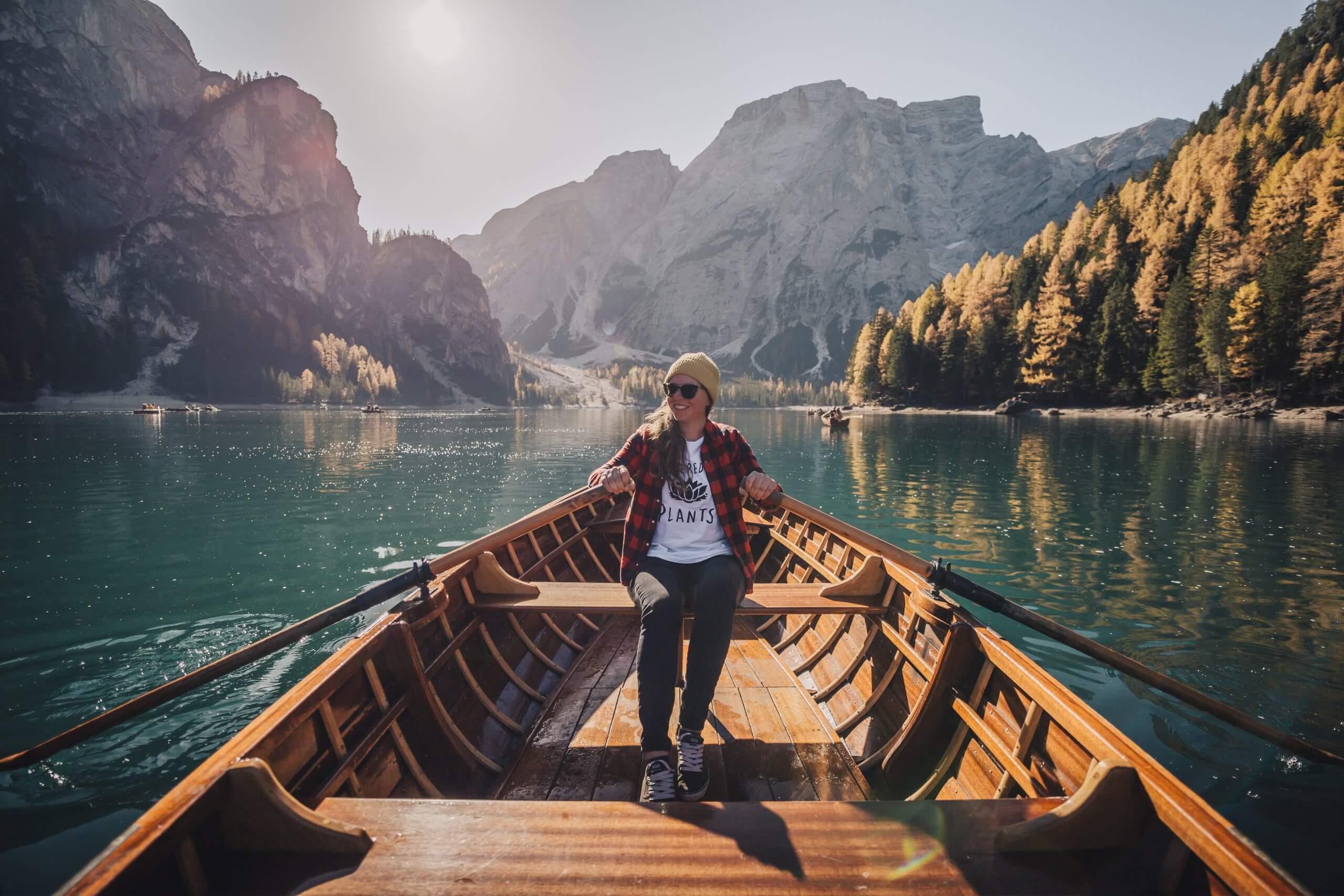 Bootsausflug am berühmten Pragser Wildsee