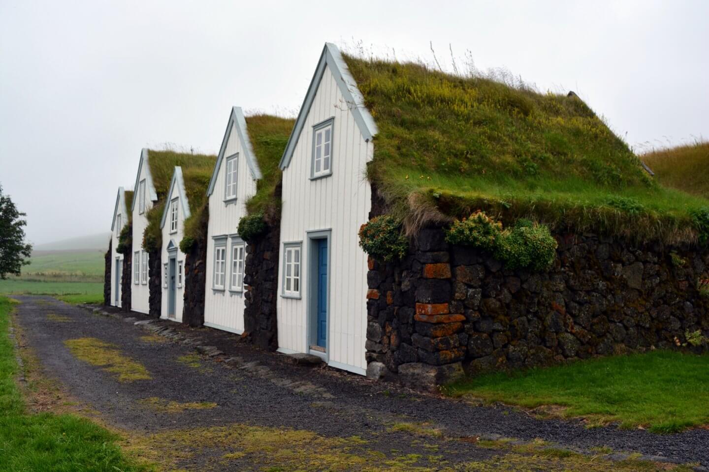 Grassodenhäuschen in Island
