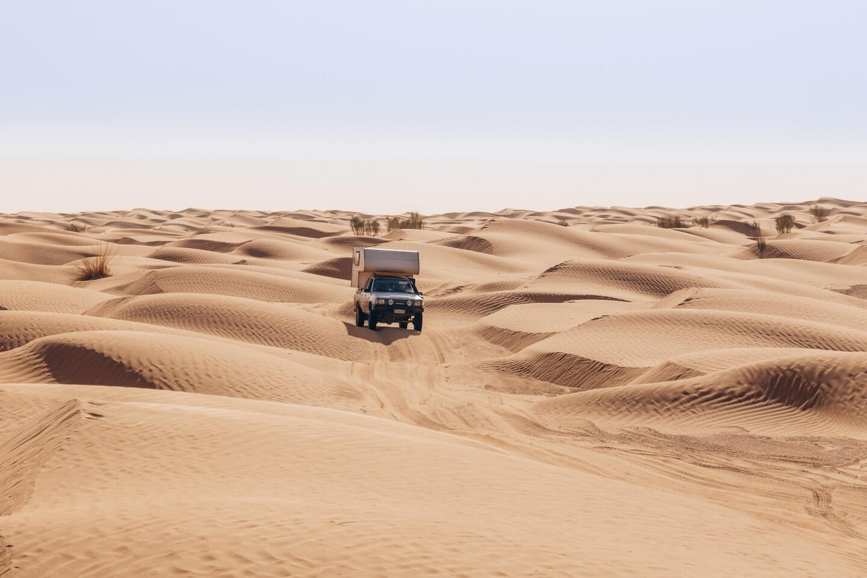 Nur für Wüsten-Experten: die abenteuerliche 4×4 Tour von Douz nach El Mida