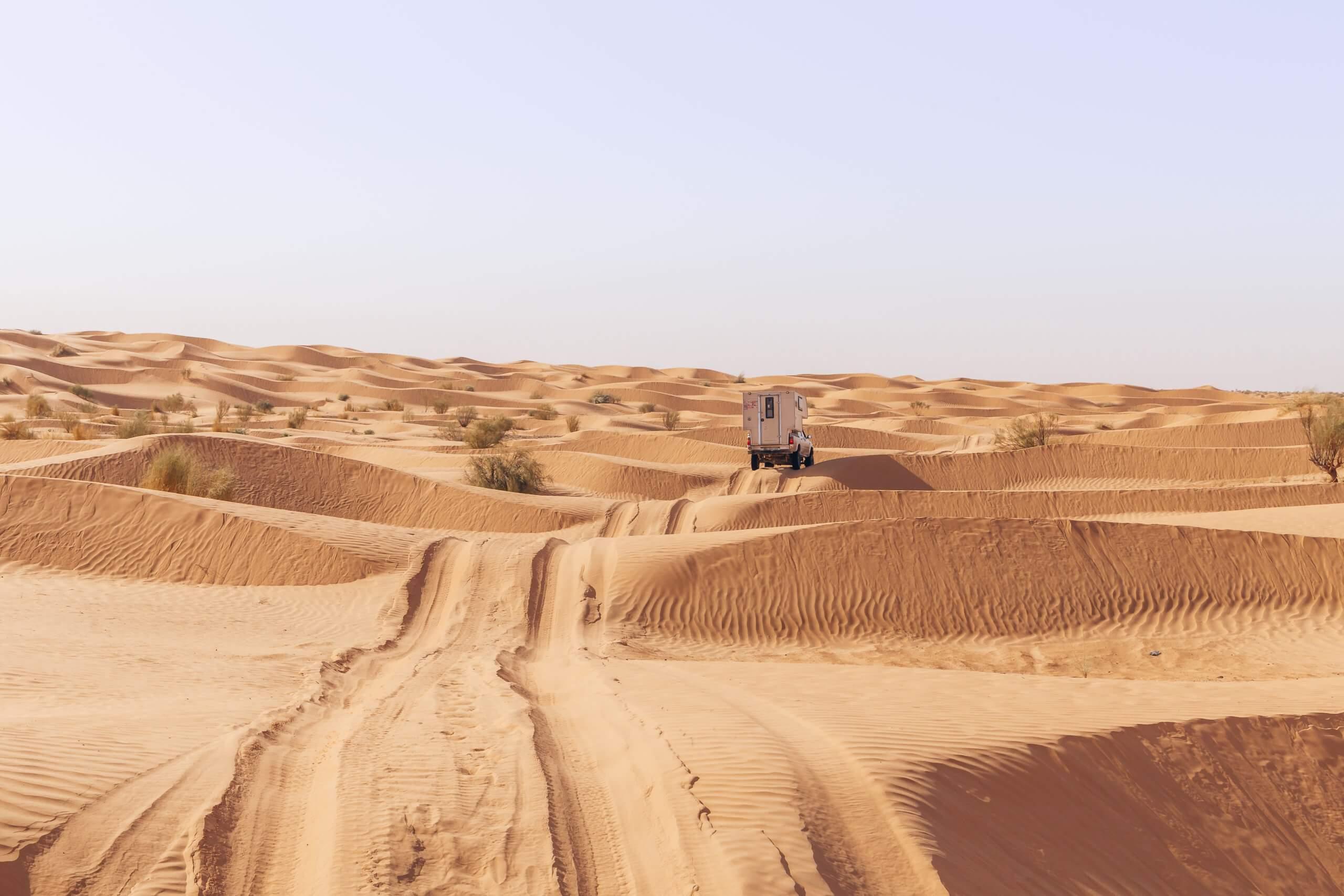 durch die Wüste Tunesien's