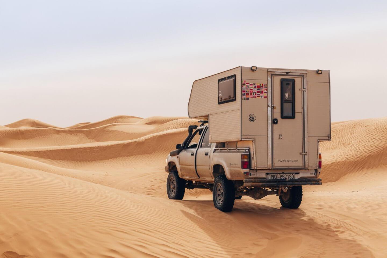 Für Wüsten-Abenteurer: die 4×4 Tour von Douz nach Tembaine