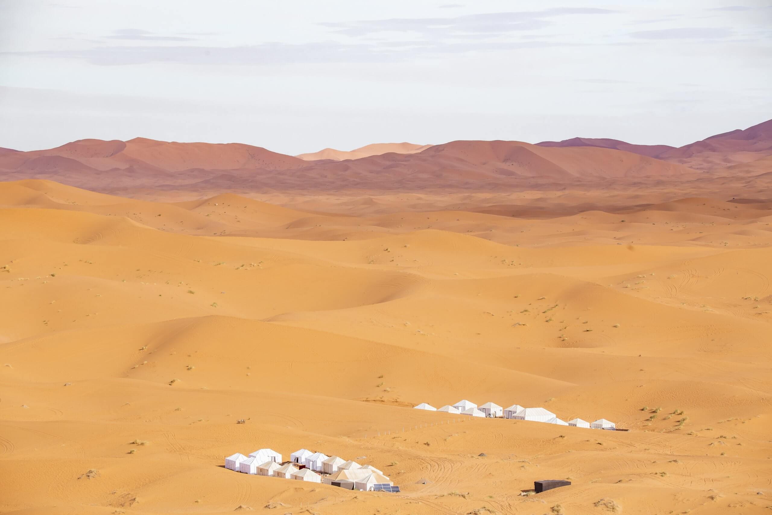 Wüstencamps im Erg Chebbi