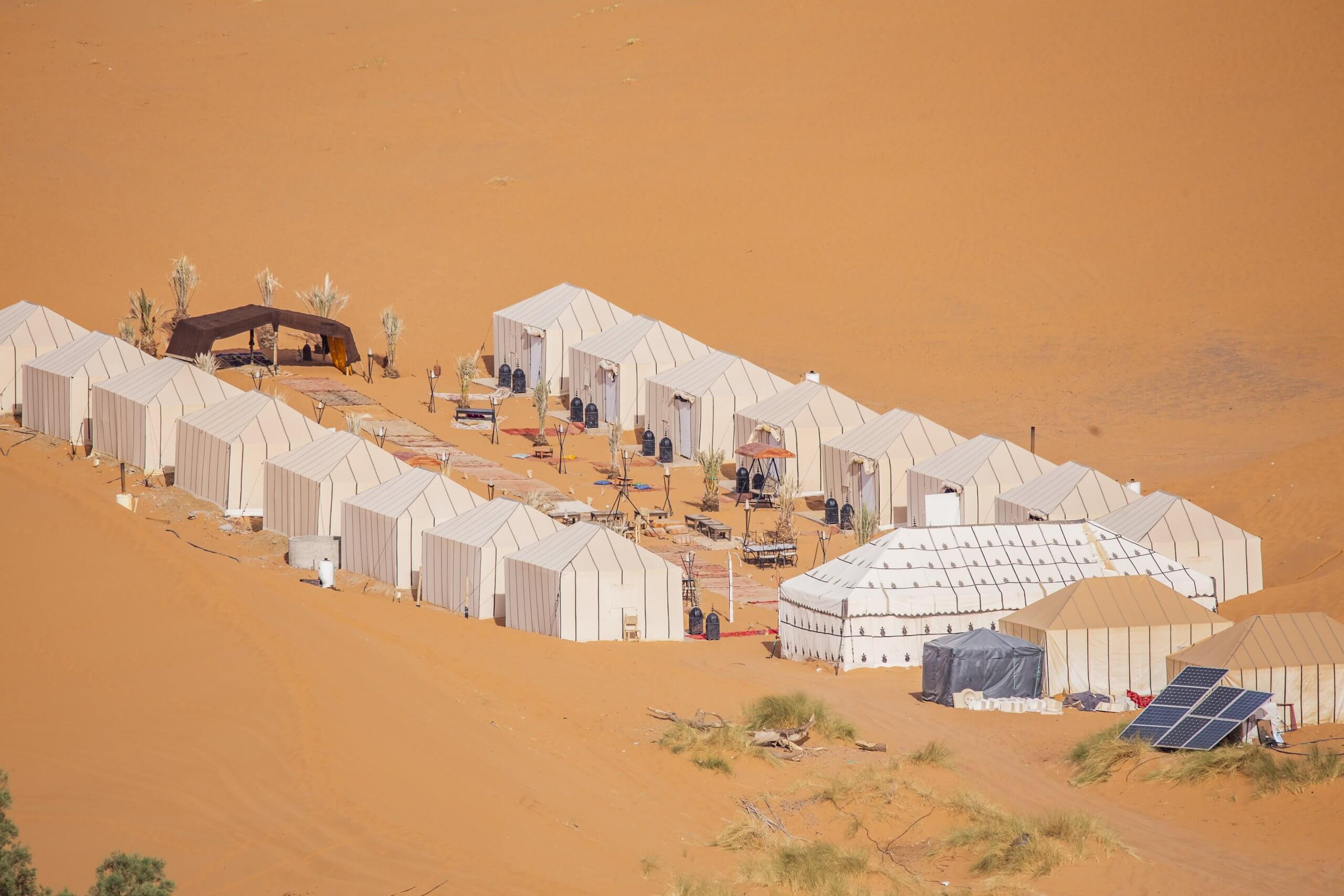 Wüstencamp