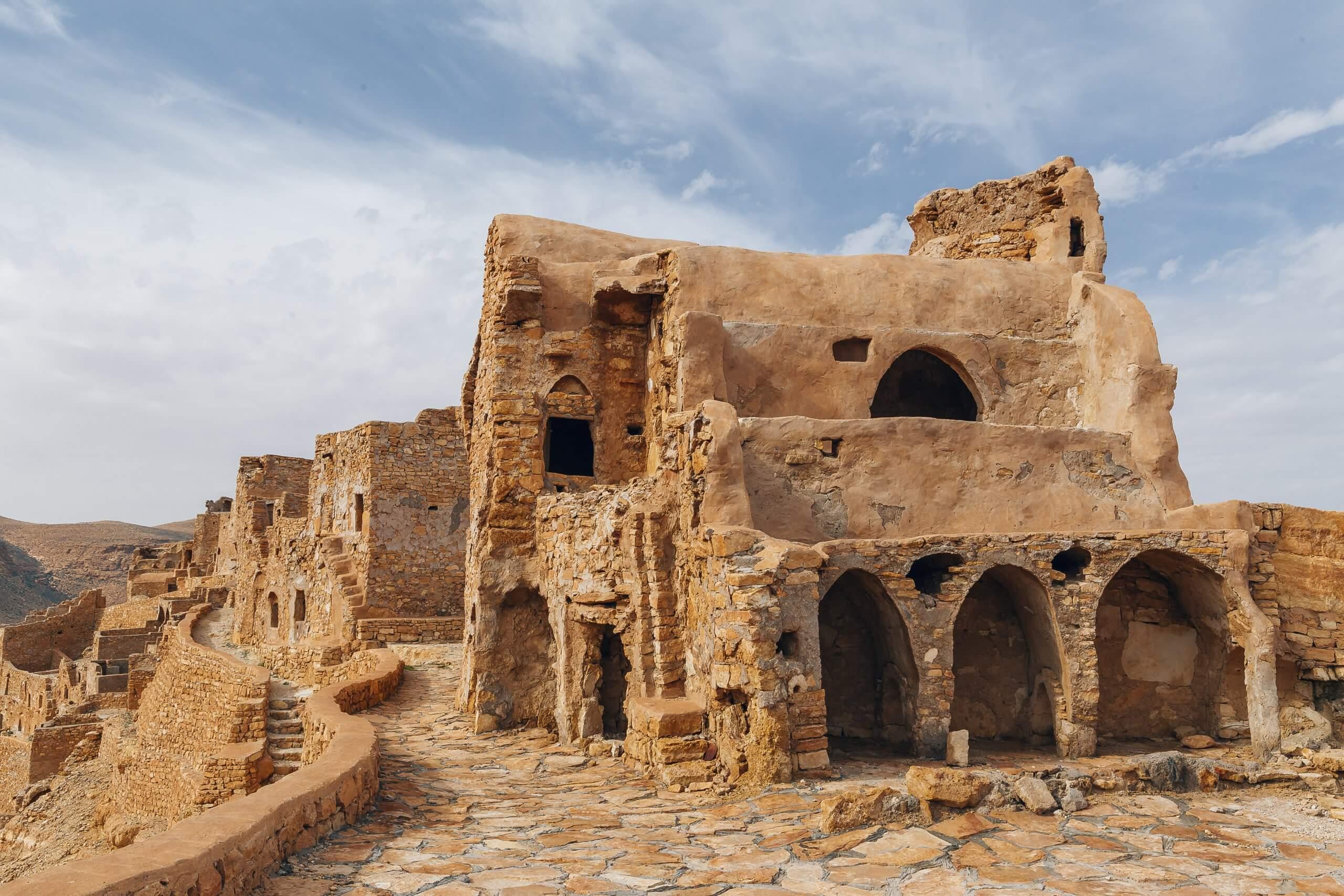 die antike Altstadt