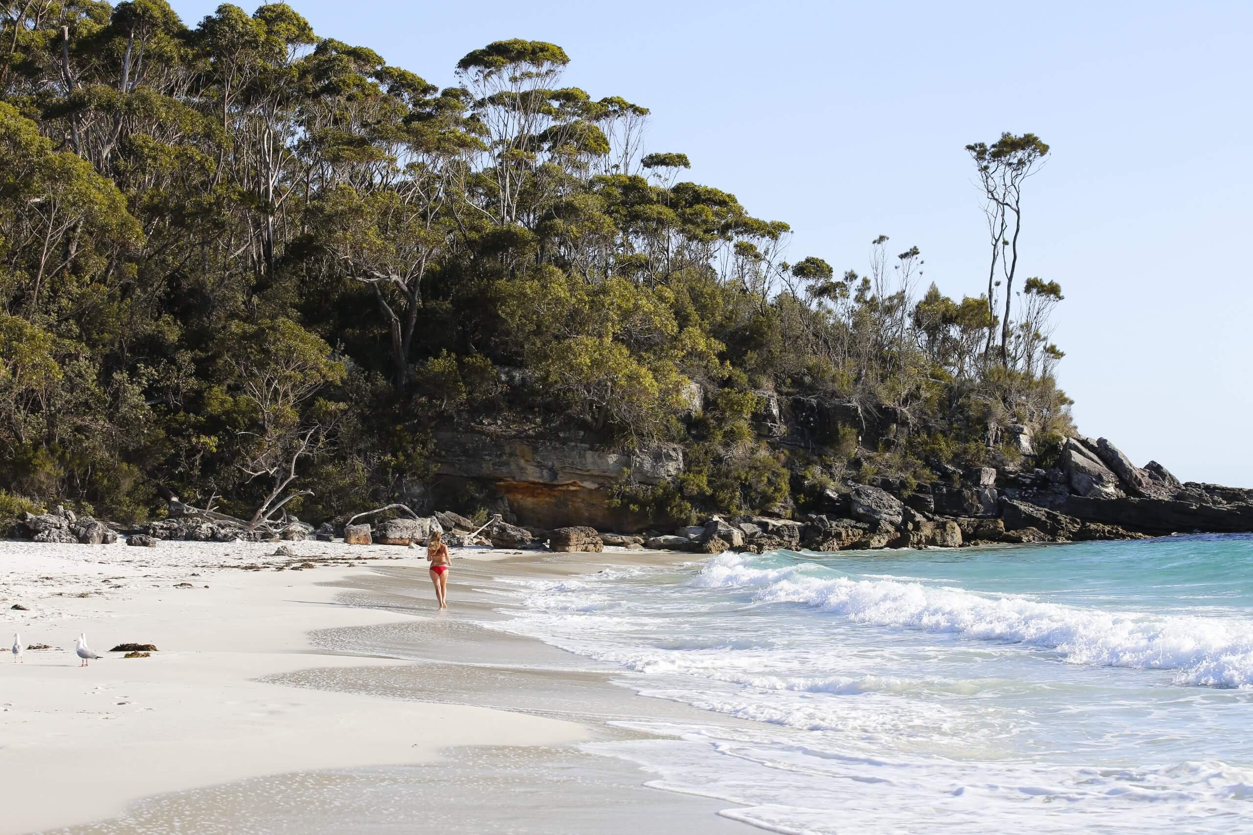 der kleine Greenfields Beach