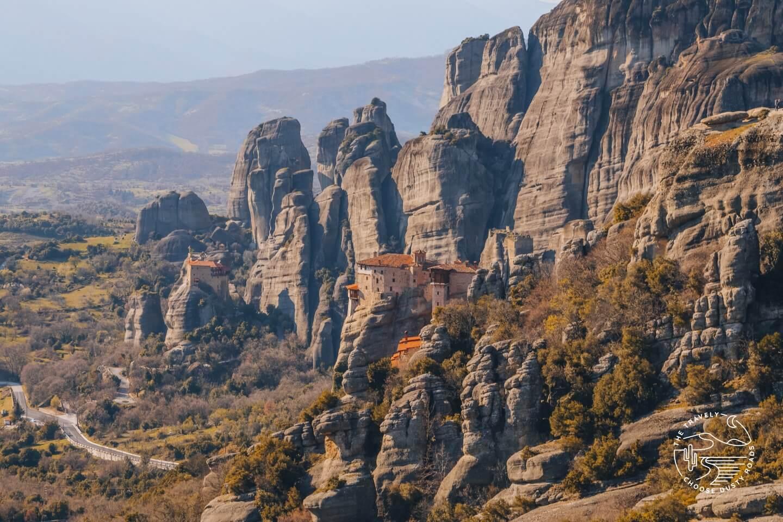 The monasteries of Meteora