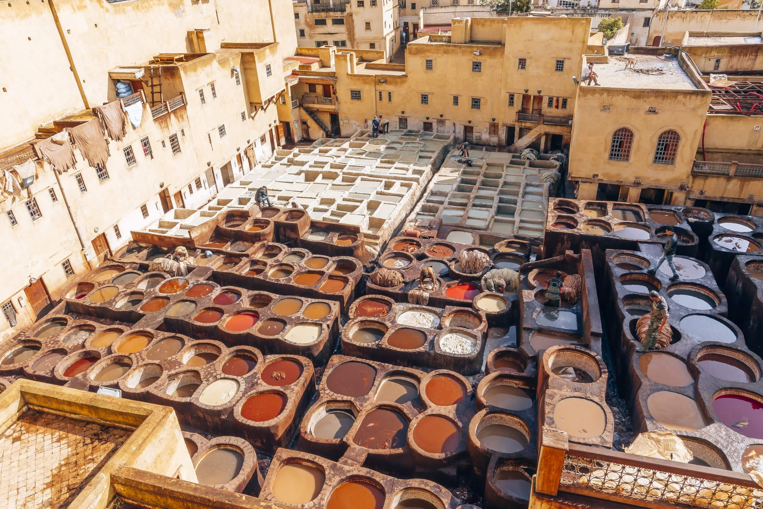Must See in Fes: die Gerbereien