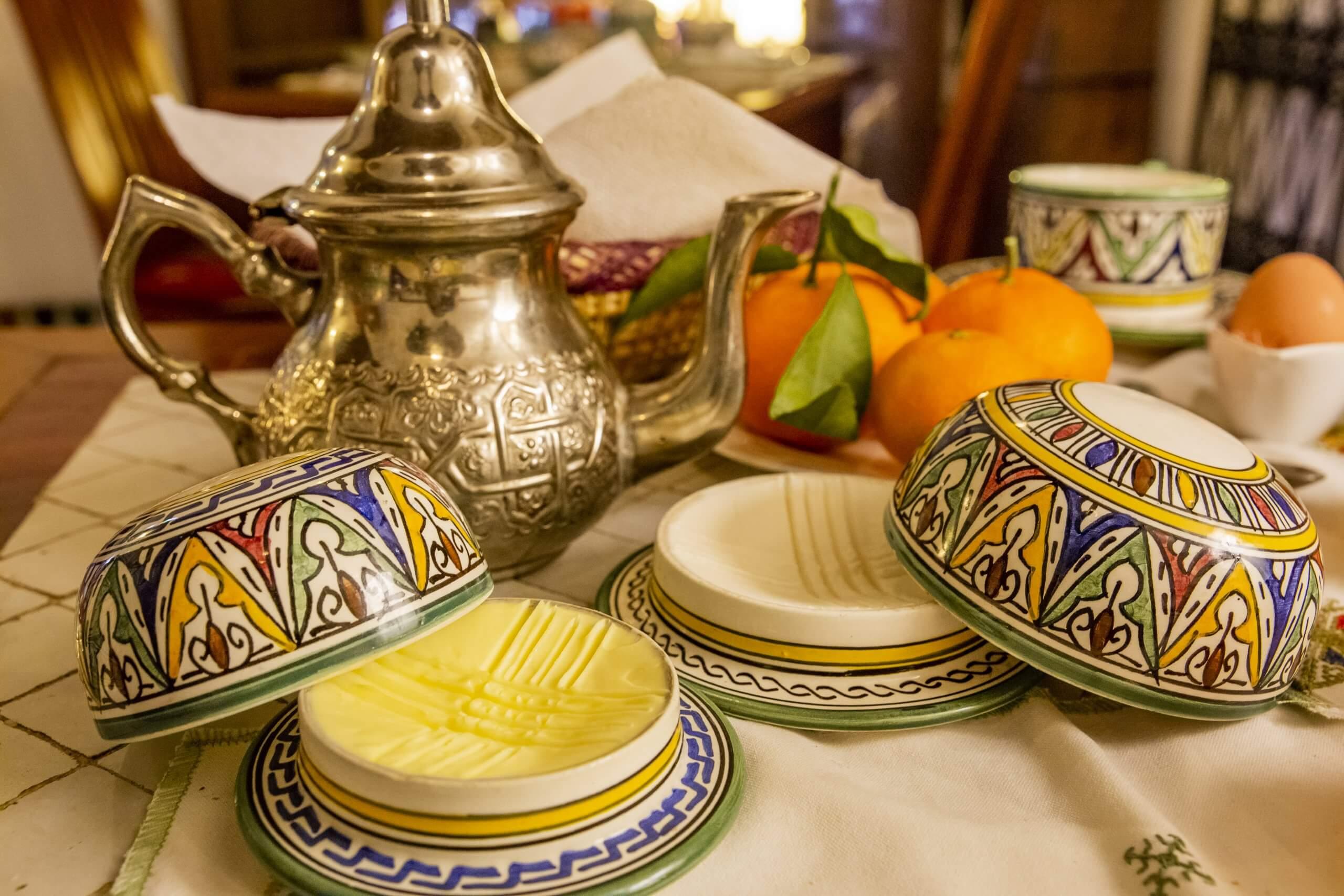 Frühstück im Ryad Salama
