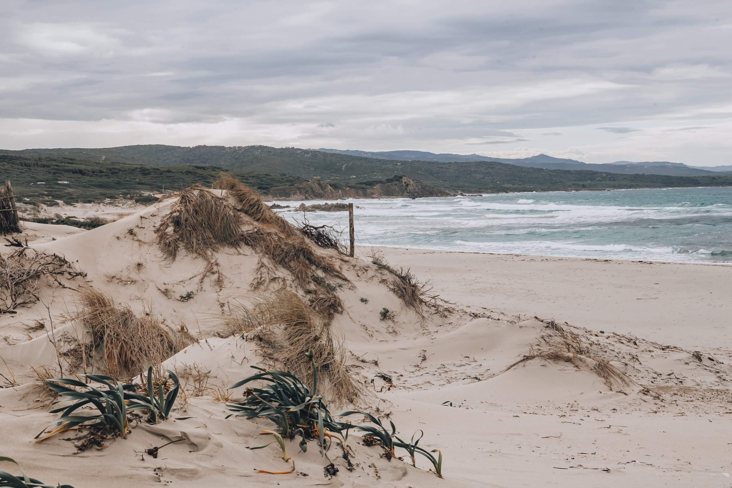 die Sanddünen von Rena Magiore