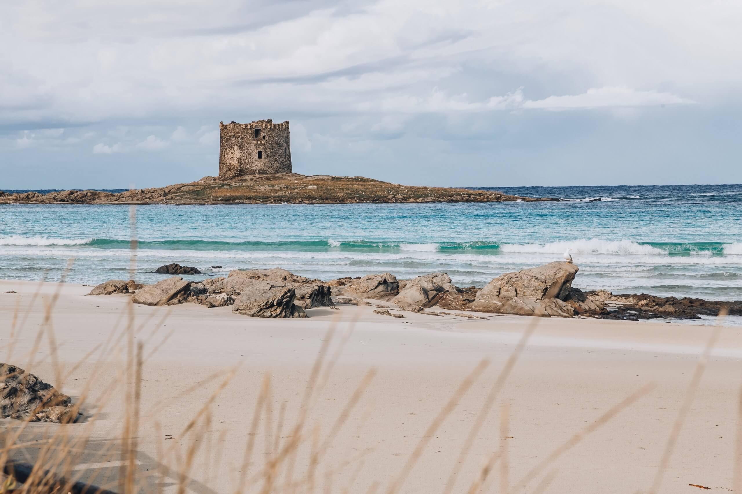 ein Must See auf dem Roadtrip durch Sardinien: die Spiaggia della Pelosa