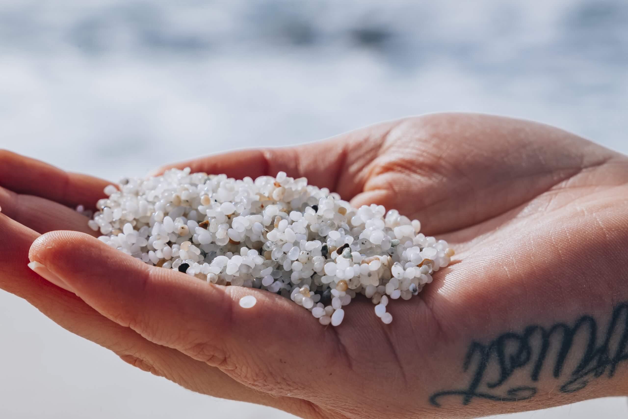 der weiße Sand von Is Aruttas