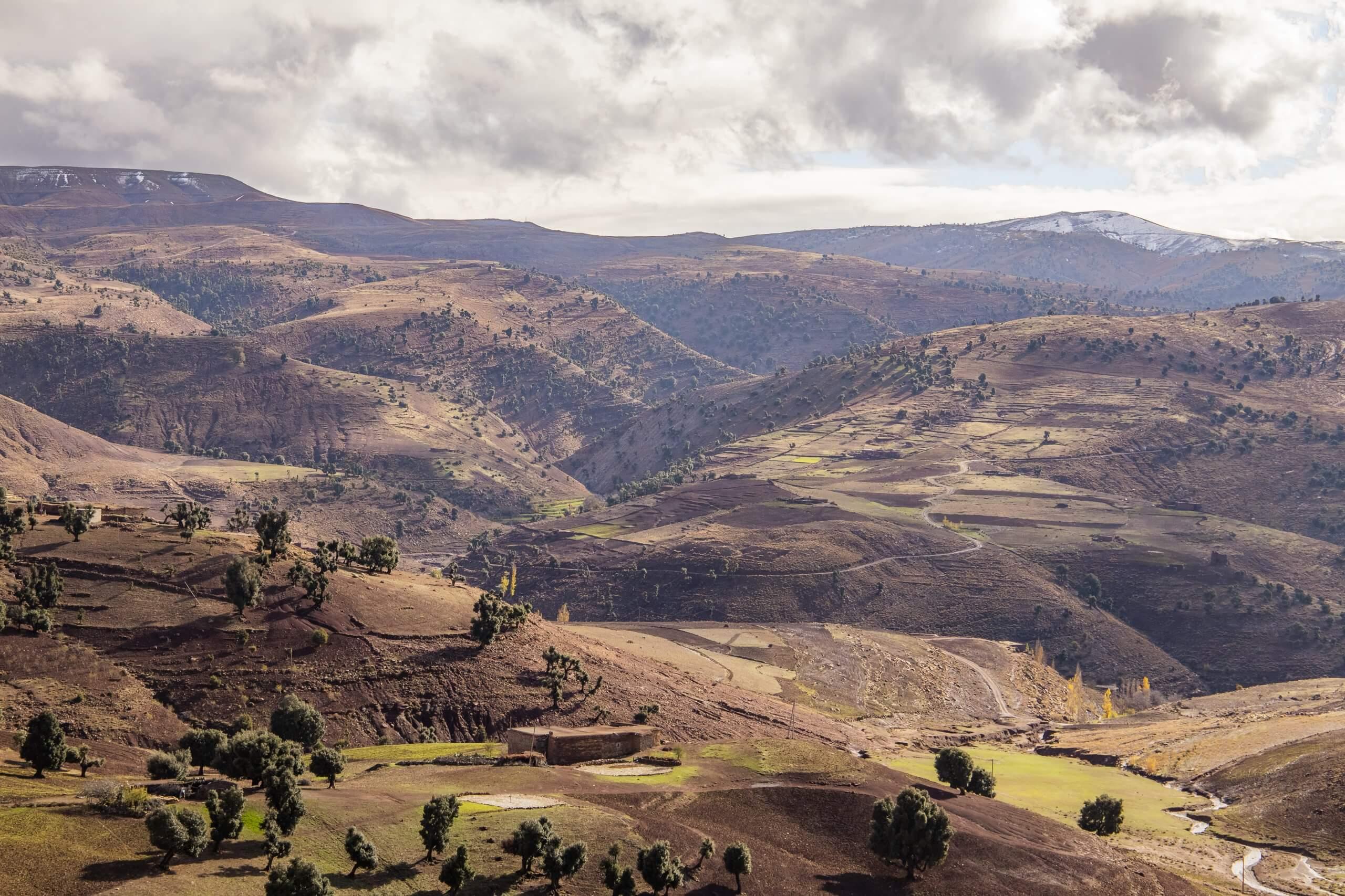 die wundervolle Bergwelt Marokko's