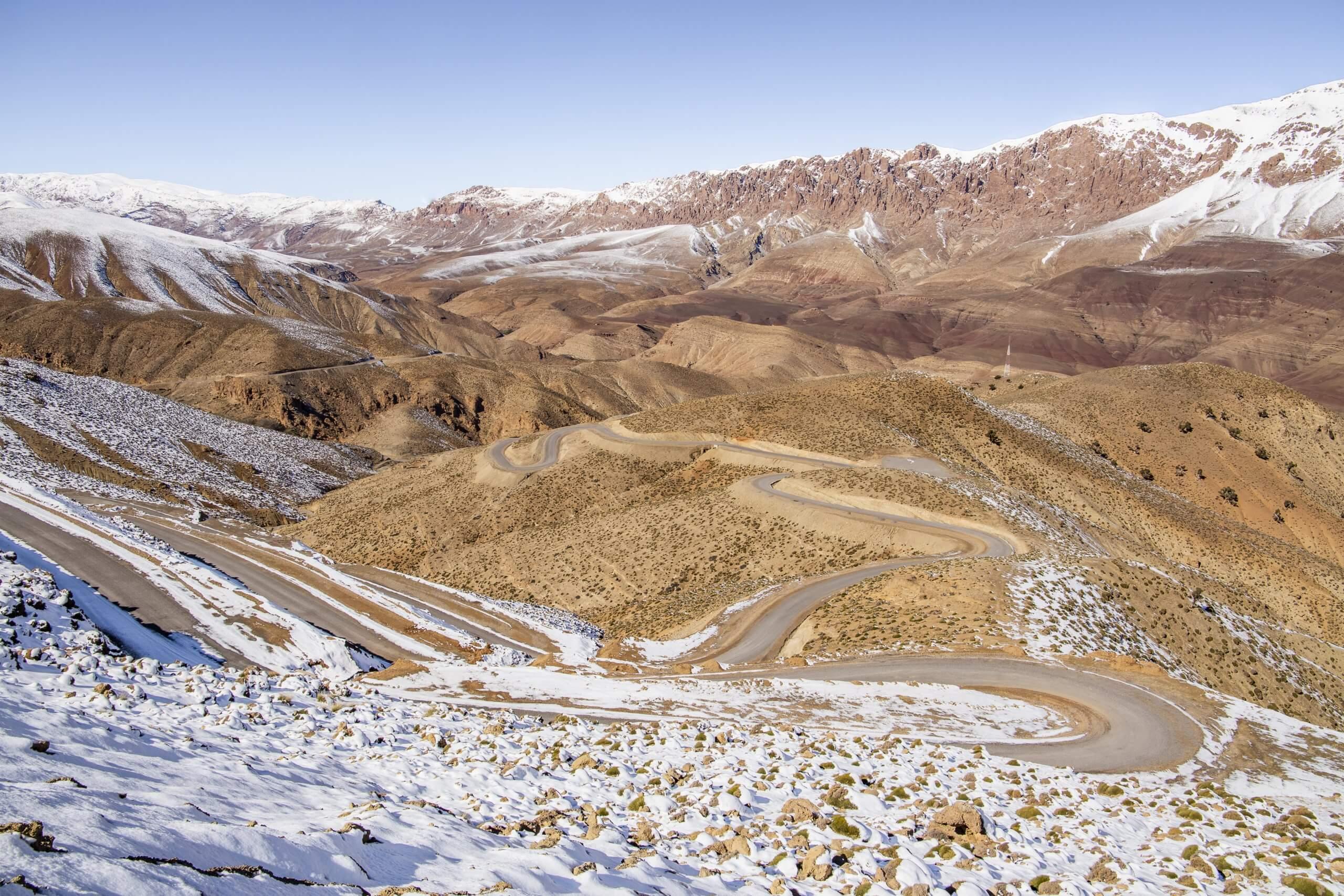 durch die wundervolle Bergwelt des Hohen Atlas
