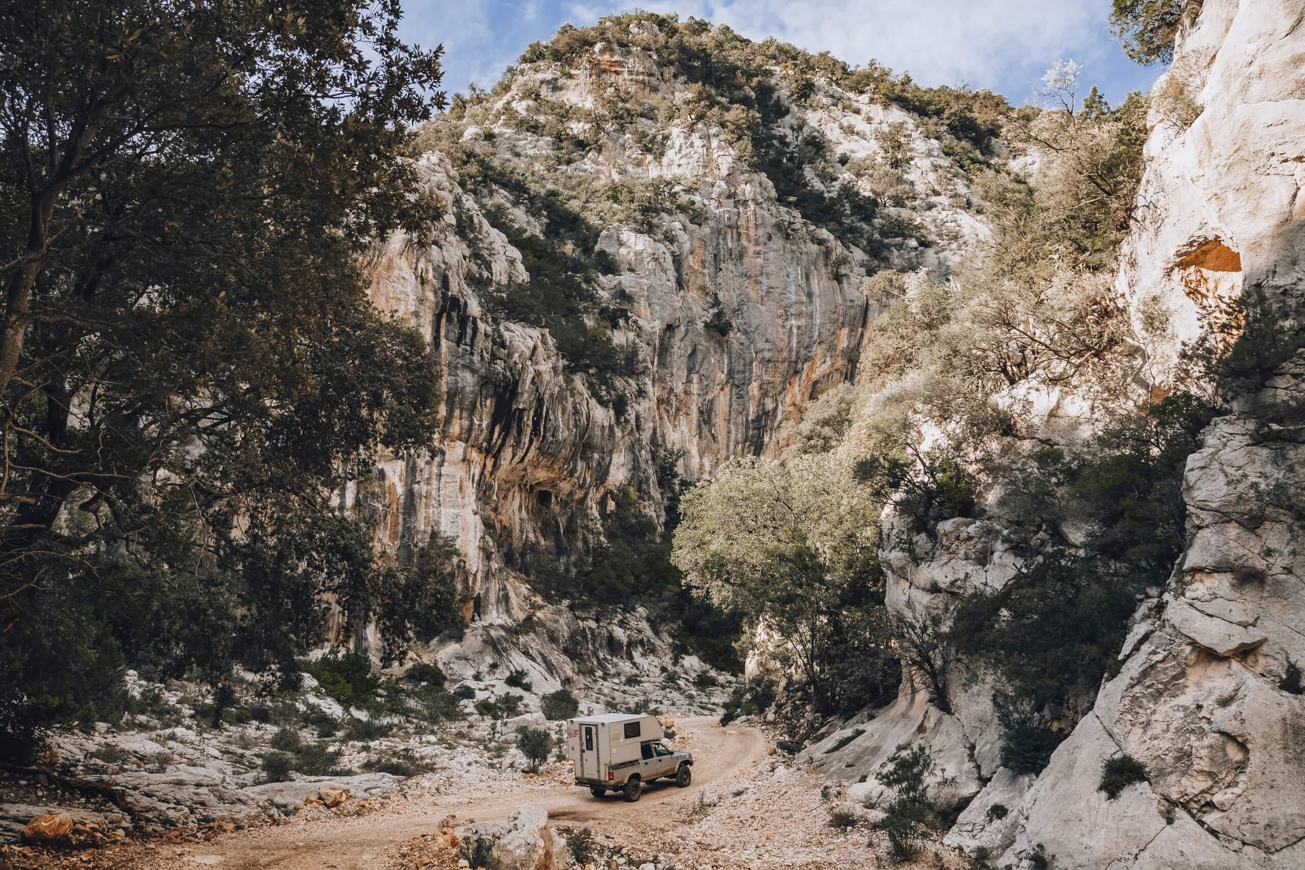 abenteuerliche Offroadtour zur Cala Sisine