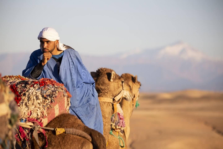 Wüstencamps rund um Marrakech