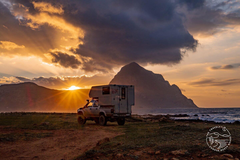 Ein Paradies für Camper - San Vito Lo Capo