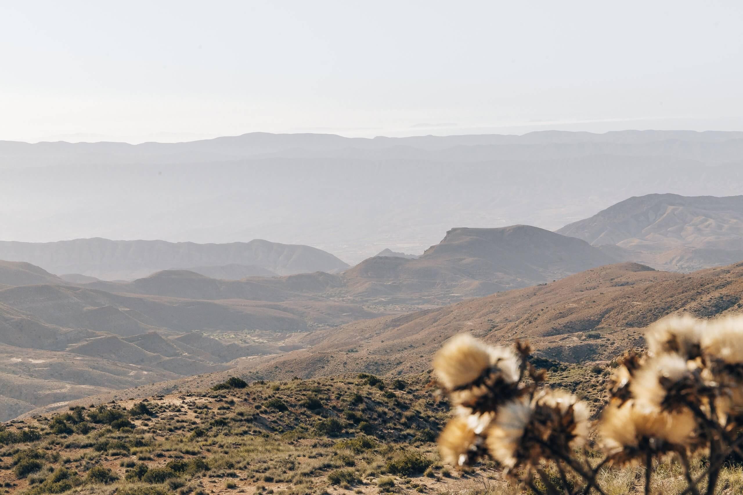 Berglandschaften rund um Sened