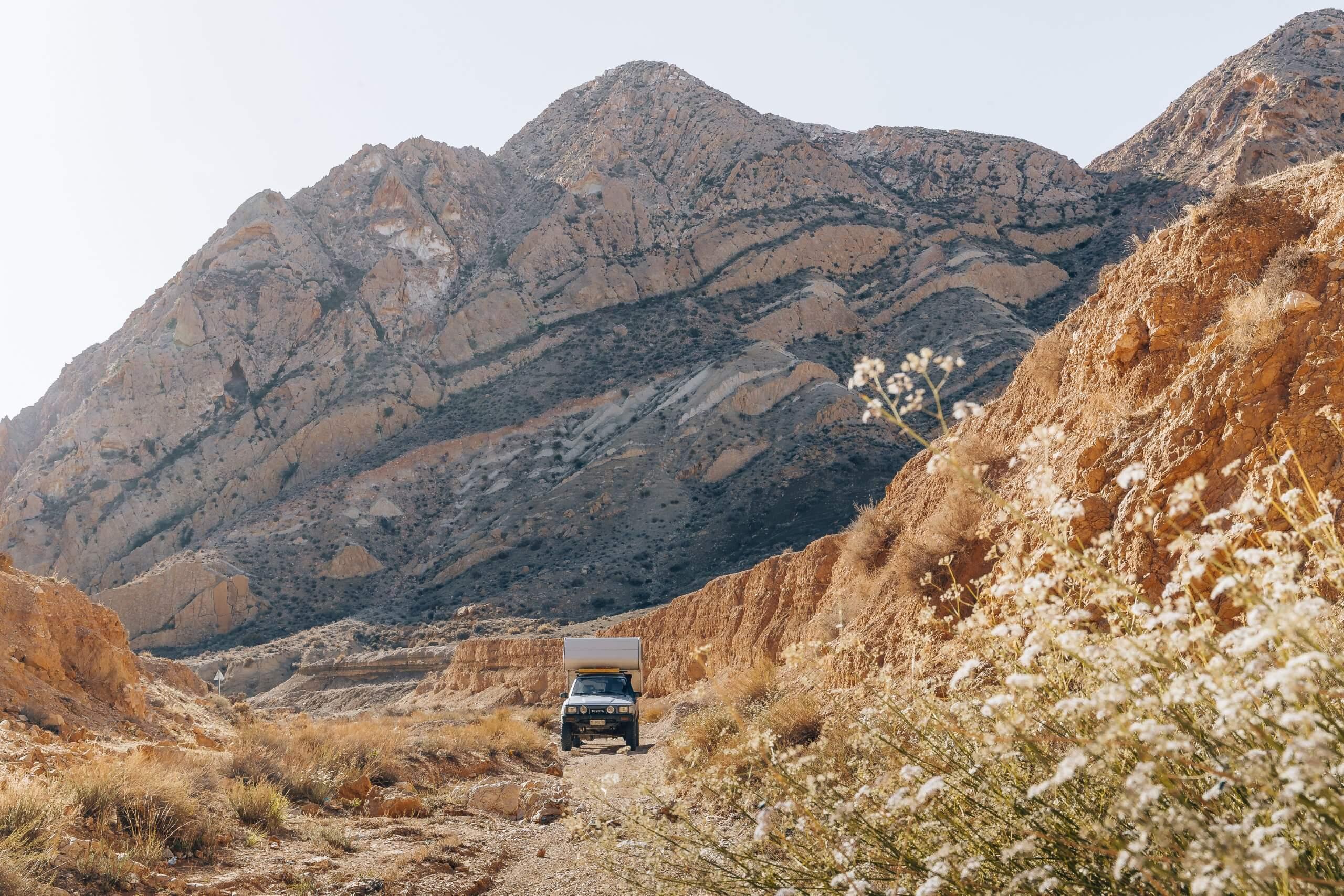 wunderschöne Canyonlandschaft rund um Sened